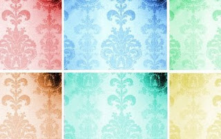 Beautiful Damask Patterns and Textures