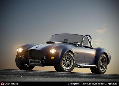 Shelby Cobra car concept design