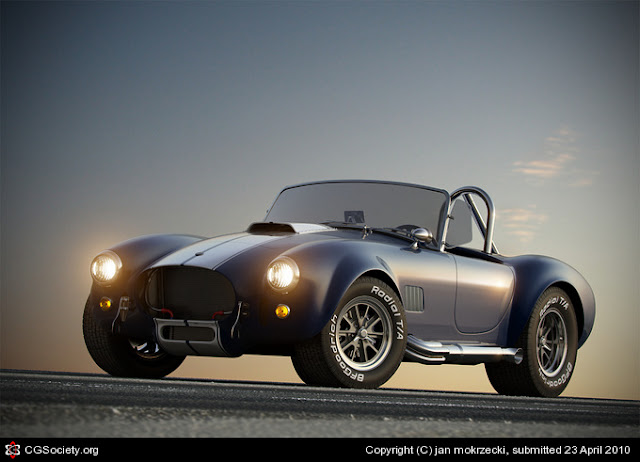 Shelby Cobra 3d car model