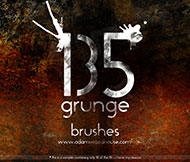 Grunge Brush Sets You Must Have For Photoshop