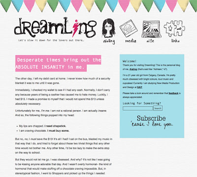 Colorful Blog Designs