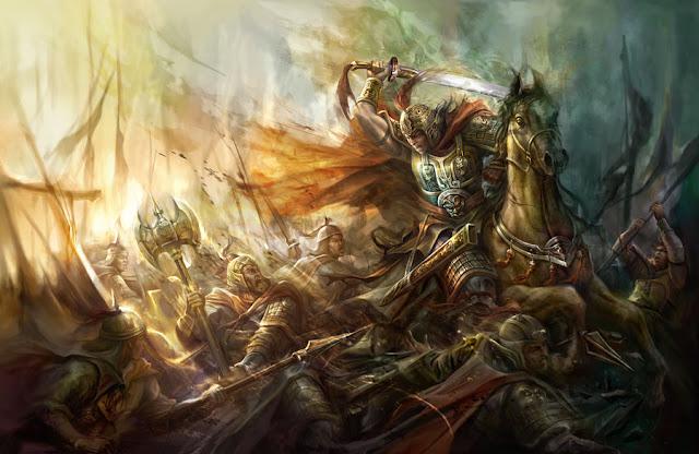 Invincible warrior