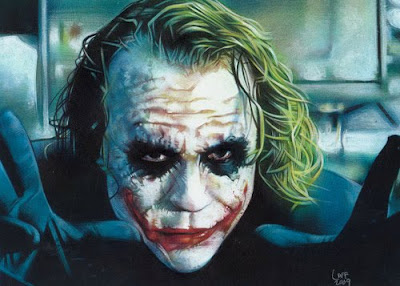 Comic Book Inspired Artwork: The Joker