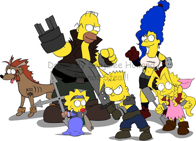 Final Fantasy Simpson