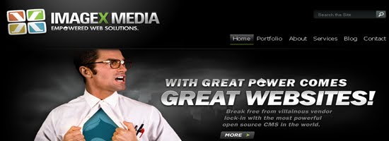 ImageX Media web design