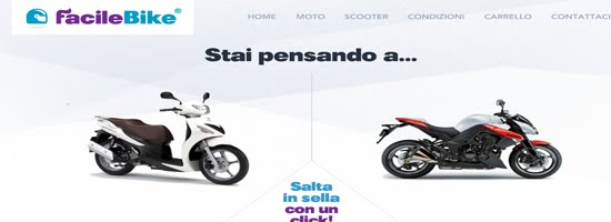 FacileBike web design