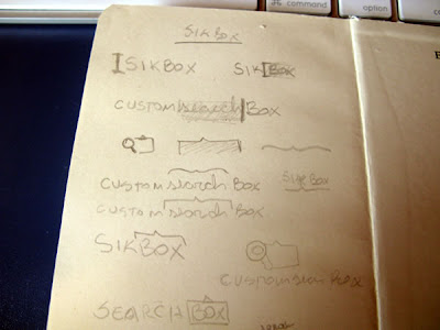 Sikbox Logo Design Process