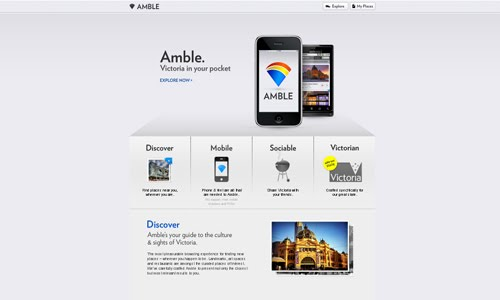 Amble web design