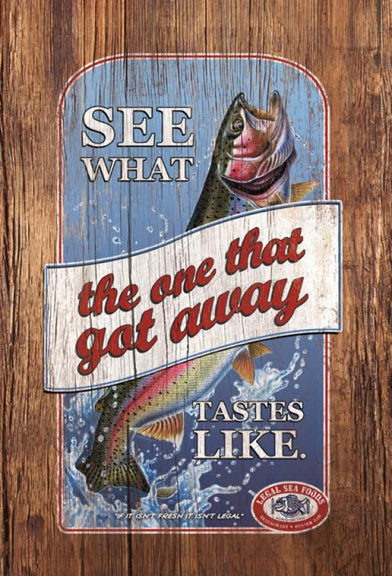 Legal Sea Foods: Got away
