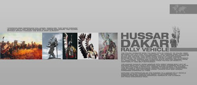 Hussar Inspired Dakar Rally concept car