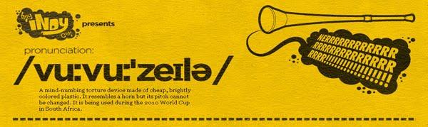 Vuvuzela web design