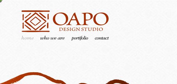 Oapo web dsign