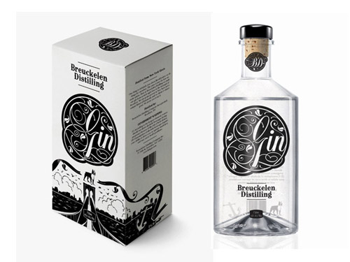 Breuckelen Gin Packaging