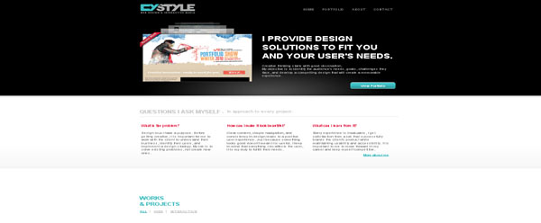 CYSTYLE web design