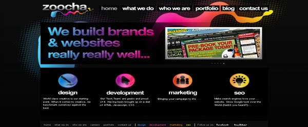 Web Design Zoocha