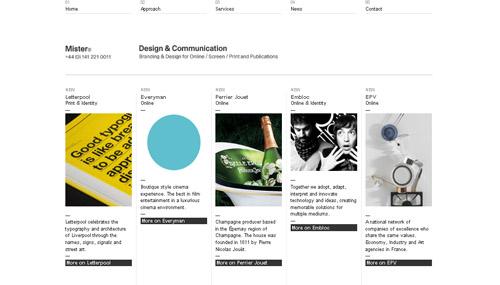 Studiomister web design