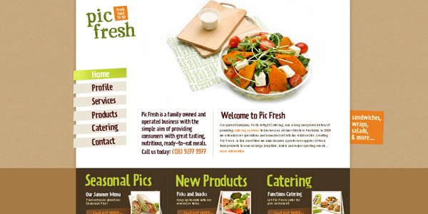 Picfresh web design