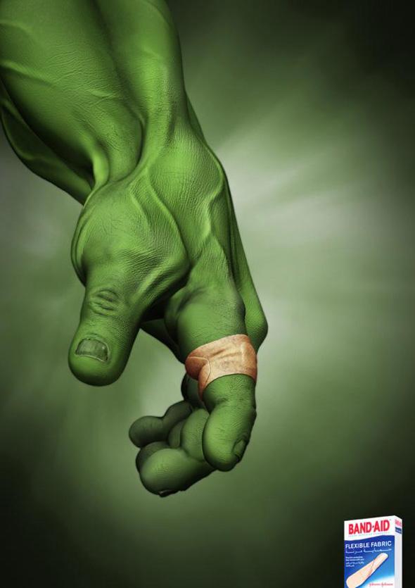 Band Aid: Hulk