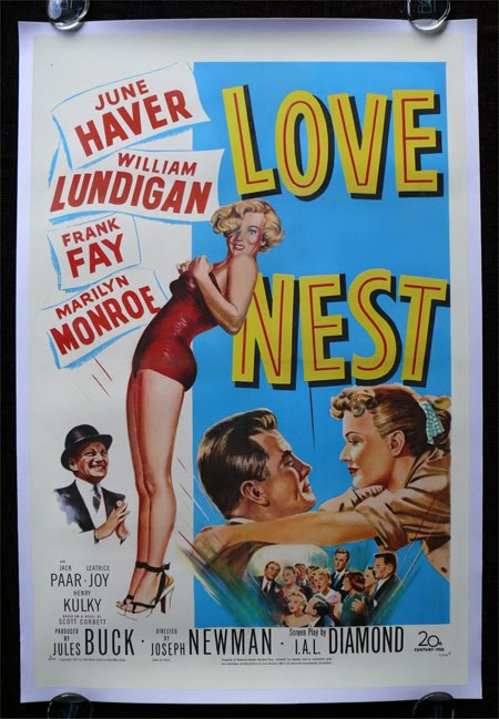 Love Nest retro movie poster