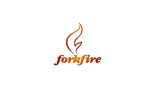 forkfire logo design