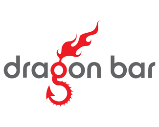 Dragon Bar Logo Design