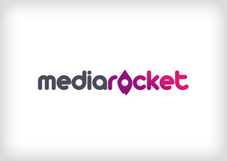 mediarocket logo design