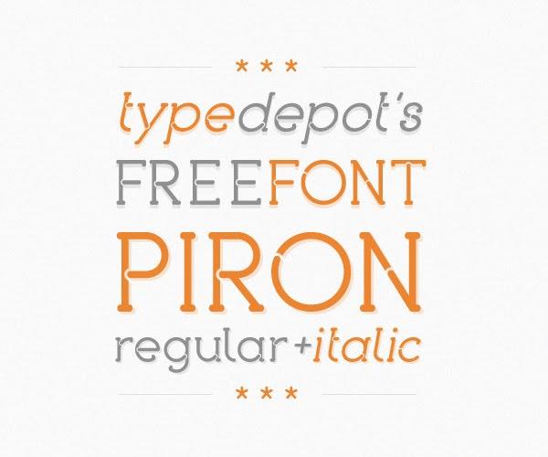 Piron Free Font