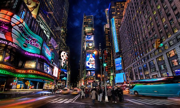 Times Square at Dusk (New York City)