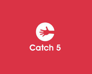 catch five logo design