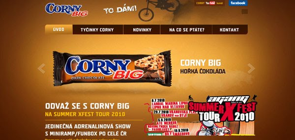 Corny Big Web Design