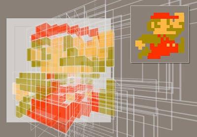Pure CSS animated 3D Super Mario Icon