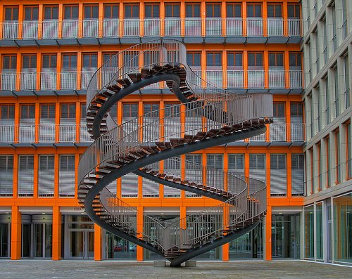 KPMG Building Munich stairs photo
