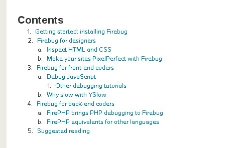 Build Better Pages With Firebug