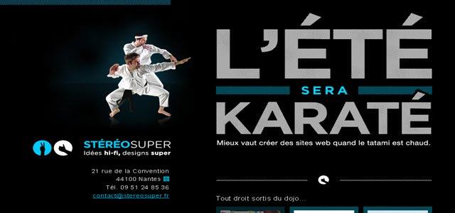 Stereosuper Web Design