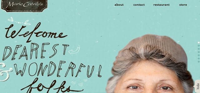 Marie Catribs Web Design