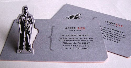 Actual Size Business Card