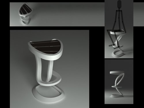 bar stool by lucian popescu