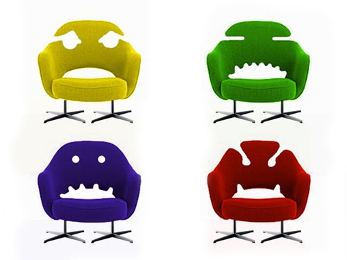 Monstrotypes Chair