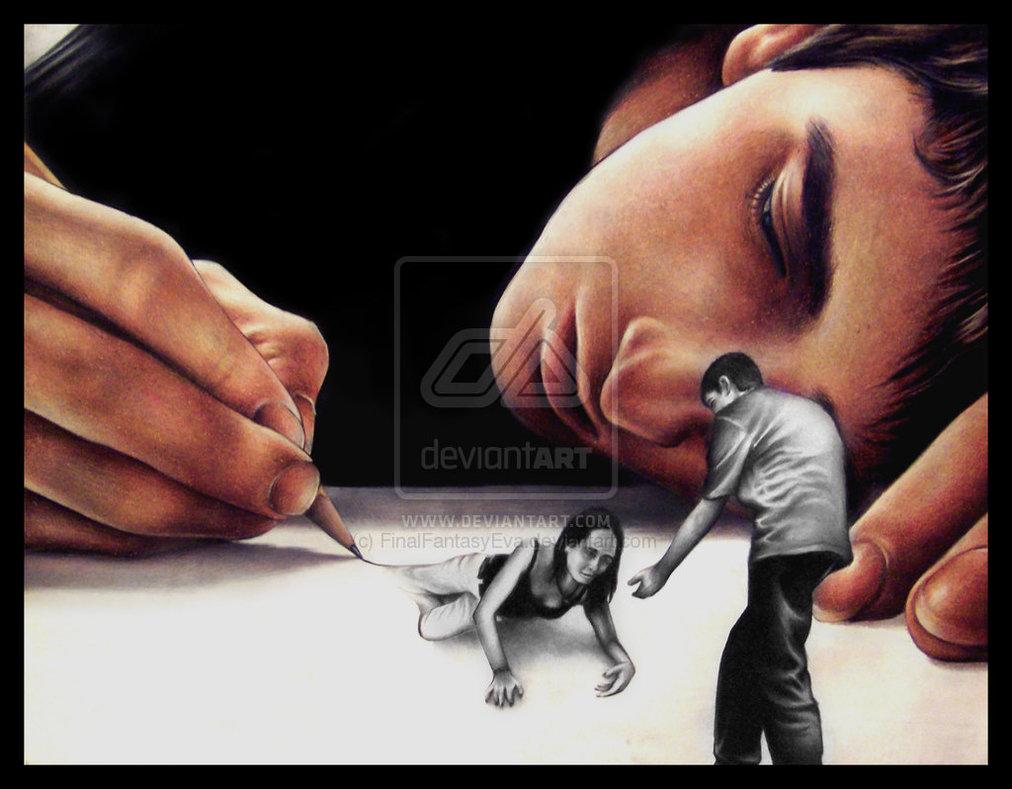 Art Drawing Us by FinalFantasyEva