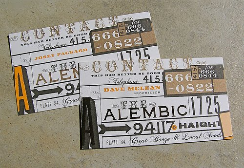 Alembic Business Card
