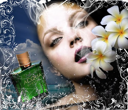 Design a Stunning French Perfume Advert Poster