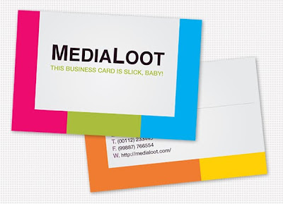 How To Create A Colorful Business Card Template