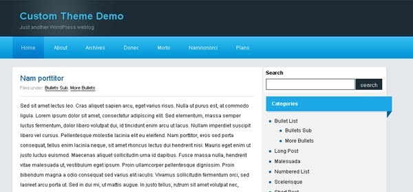 Blogwave WordPress Blog Theme
