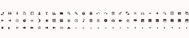 Collection of Mini Icon Sets