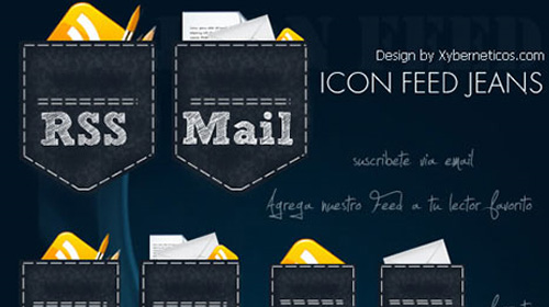 A Showcase of Free RSS Icon Sets for Bloggers