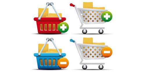 Absolutely Free E-Commerce Icon Set