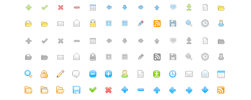 15 High Quality Mini Icon Sets for Your Web Projects