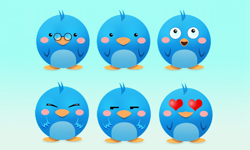 A Huge Collection of Free Twitter Icons