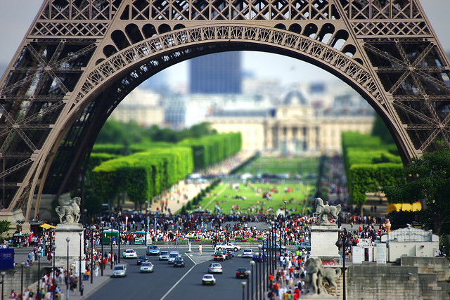 Eiffel Tilt-Shift