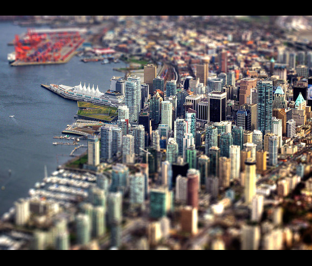 I used my mad scientist ultrahyper shrink ray on Vancouver